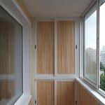 Обшивка балконов ПВХ панелями