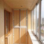 Остекление балконов раздвижными окнами